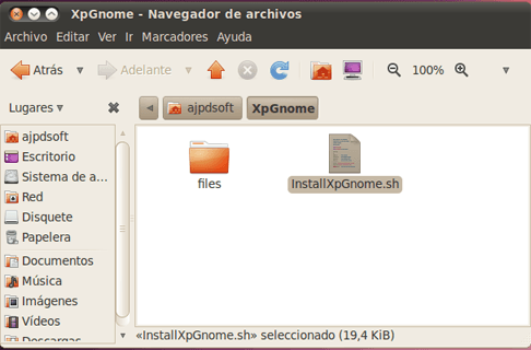 Cómo convertir Linux en Windows 7, transformar GNOME de Linux Ubuntu en tema de Windows 7
