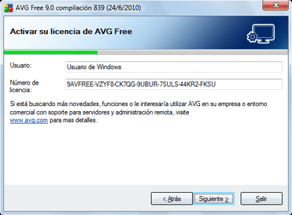 Instalación y testeo de AVG Anti-Virus Free 9.0 en Windows 7