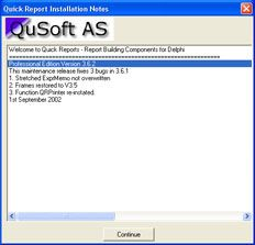 AjpdSoft Instalar componentes Delphi - Quick Report Installation Notes