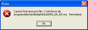 AjpdSoft Instalar componentes Delphi - Resource recreado