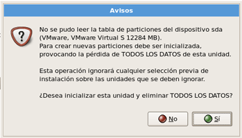 AjpdSoft Instalar Oracle Enterprise Linux virtualizado con VMware Server