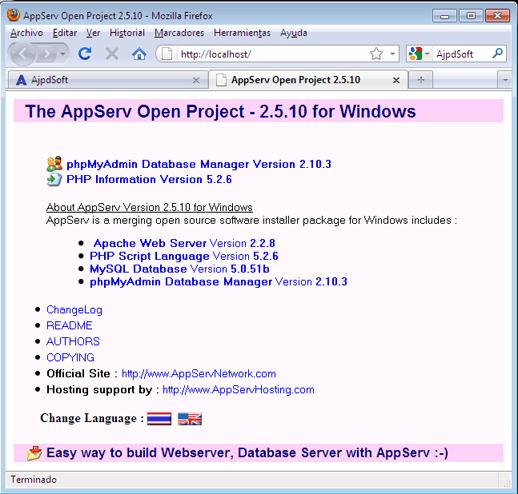 Descargar Appserv 2.5.10 Para Windows 7 32 Bits Free Download